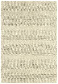 Modern Stripe Rug by Katherine Carnaby Coast Cs06 Cream Stripe Rug Modern Handloomed