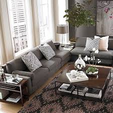 Family Room Decor Dark Gray Couch Living Room And Ideas About Gray Couch Decor On