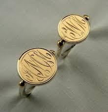 Gold Monogram Rings 64 Best Anelli Images On Pinterest Signet Ring Men Rings And