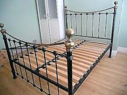 black metal bed frame king full size of bed iron bed frames queen