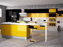 cuisine noir et jaune cuisine cuisine cuisine noir la cuisine et noir
