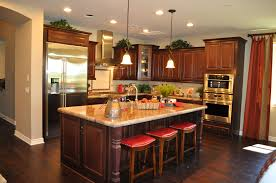 kitchen dark wood nice home design