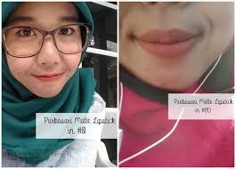 Lipstik Purbasari Nomor 90 review purbasari lipstick color matte no 81 90