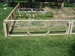 Vegetable Garden Netting Frame by Home Vegetable Garden Fence U2013 Home Design And Decorating