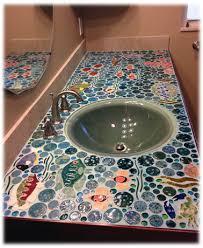 Tile Kitchen Countertop Decorative Ceramic Tile Hand Made Tiles For Kitchen Countertops