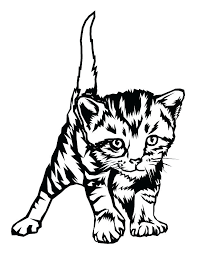 printable coloring pages kittens coloring pages kittens chacalavong info