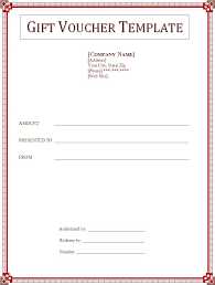 gift voucher samples 2 best gift voucher templates free word templates