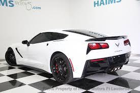 2014 used corvette 2014 used chevrolet corvette stingray 2dr z51 coupe w 1lt at haims