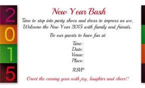 New Year Invitation Card New Year U0027s Party Invitation Custom New Years Eve Party