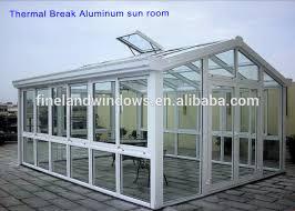 Outdoor Glass Room - thermal break aluminum frame glass room sun house buy garden sun