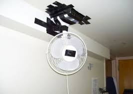 Squeaky Ceiling Fan Wd40 by Diy Ceiling Fan All You Need Is A Ceiling A Fan Some Tape And