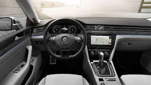 New Passat Interior 2018 Volkswagen Arteon Fastback Sedan At The Geneva Auto Show