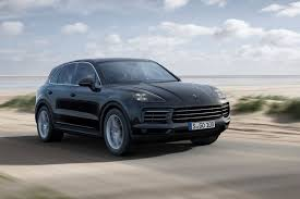 porsche car 2017 new porsche cayenne revealed full details of revamped suv autocar