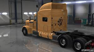 wooden kenworth truck scs peterbilt 389 wood skin mod ats mods