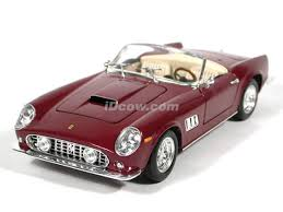 california model car 250 gt california diecast model car 1 18 scale spider by