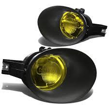 Dodge Ram Yellow - 02 09 dodge ram 04 06 durango factory style fog lights kit yellow