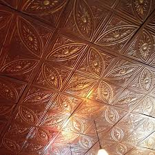 Tin Ceiling Panels by 124 Dropin Classiccopper 500x500 Jpg