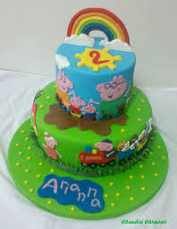 peppa pig cakes peppa pig cake cakecentral