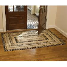cotton braided rugs primitive home decors