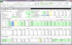 Flow Analysis Excel Template Excel Underwriting Rockport Cre Lending System