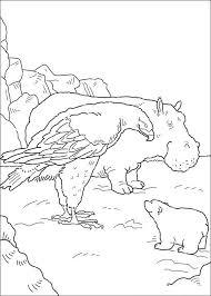 kids fun 38 coloring pages lars polar bear