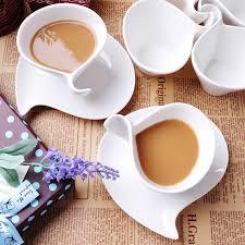 fancy coffee cups fashion fancy bone china coffee cup set white ceramic coffee cup