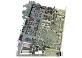 Supermarket Floor Plan by 3d Floor Plan With Hvac Qa Graphics