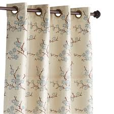 Cherry Kitchen Curtains by Cherry Blossom Blue 120
