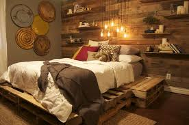 Lowes Bed Frame Lowes Wooden Pallets The Wood Paneling And Pallet Platform
