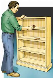 Simple Wood Bookshelf Plans by How To Build A Bookcase
