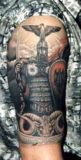 viking on half sleeve