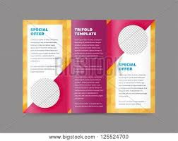 four page brochure template how to make simple 4 page leaflet in