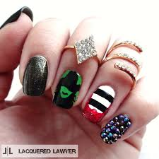 lacquered lawyer nail art blog halloween