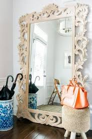 entryway mirror shelf and coat rack college apartment