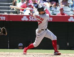 Yardwork Red Sox Indians Brawl - valbuena s solo homer lifts angels to 3 2 win over red sox