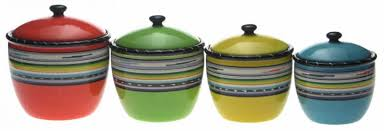colored kitchen canisters colorful kitchen canisters chandelier sickchickchic 5
