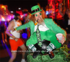 coolest leprechaun on a pot of gold illusion costume pot of gold