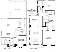 ivy floor plan new homes in carmel valley north county three story
