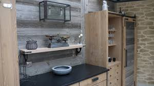 cuisine vieux bois projet 2 agencement cuisine meubles chêne cérusé et brut vieux bois