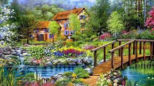 most beautiful drawings of nature beautiful drawing of house