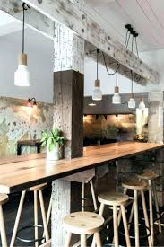 cuisine style loft table haute bar cuisine newsmaker me
