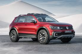 volkswagen tiguan gte active concept is an awd hybrid crossover