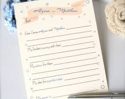 wedding advice cards wedding advice cards etsy