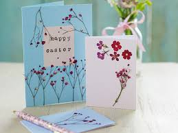 easter cards how to make easter cards with flowers
