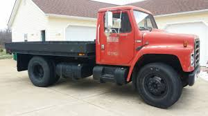 22500 1980 International Harvester Flat Bed Truck Gvwr 22 500 For Sale