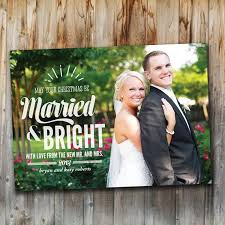 newlywed christmas card ideas merry christmas happy new year