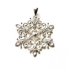 southern gates jewelry snowflake pendant