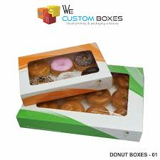 personalized donut boxes donut boxes with free delivery and shipping wecustomboxes