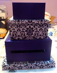 wedding gift box ideas wedding card box 4 tier fabric covered crafts unleashed