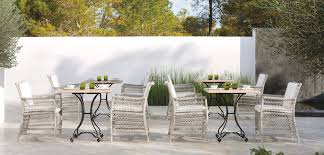 Wicker Patio Dining Table Outdoor White Wicker Wicker Patio Dining Set White Wicker Outdoor